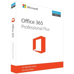 Microsoft Office 365 Pro Plus Account Lifetime for 5 PC/Mac/Android